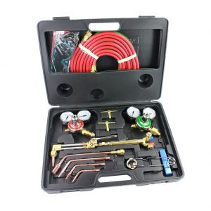 Neiko® 10921 Gas Welding and Cutting Torch Kit Victor Type with Case